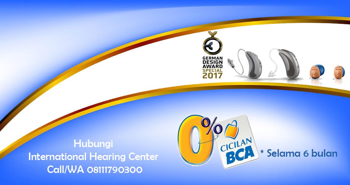 Cicilan BCA pembelian alat bantu dengar IHC
